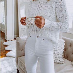 Joe's Jeans The Vixen Sassy Skinny White